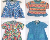 vintage 90's girls' clothing lot 2T