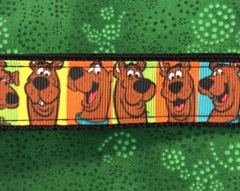 Scooby Dooby Doo Keychain wristlet Key Fob