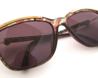 Paloma Picasso 3734 Designer Sunglasses   Made in Austria by OPTYL, Vintage 80s 90s Womens
