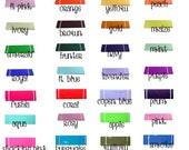 "6"" X 100 Yards roll tulle fabric ribbon Tutu  Bridal Bows 23 Colors U choose color"