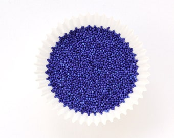 Purple NonPareils for Decorating Cupcakes, Cookies and Cakes (2 ounces)