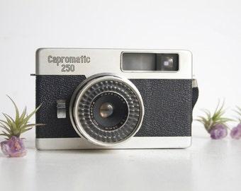 Camera, Capromatic 250, Mid Century Design, Gift For Him, Design Oriented, Decor Camera, Bookshelf Camera, Studio Decor