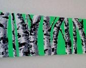 Birch Tree Art- Original Oil Painting