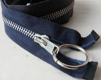 Vintage 1950 Zippers / Metal Zipper / NOS