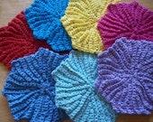 Circle Point Washcloth/Dishcloth