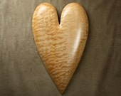A wooden Heart wood carvings the best unique Valentine's Day gift
