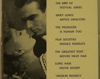 Films In Review March 1953 Anne Baxter Montgomery Clift In I Confess Jerry Lewis Hollywood Movie Actor Actress Memorabilia