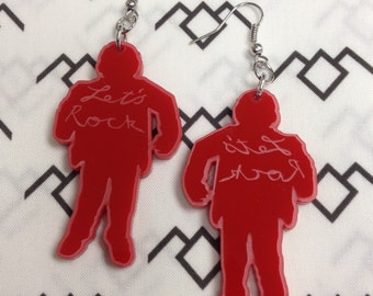 The Man From Another Place Earrings