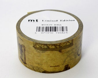 Limited Edition mt Japanese Washi Masking Tape - Inventions