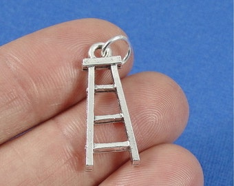 Ladder Charm - Silver Plated Ladder Charm for Necklace or Bracelet