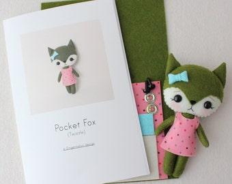 Twizzle Pocket Fox Pattern Kit