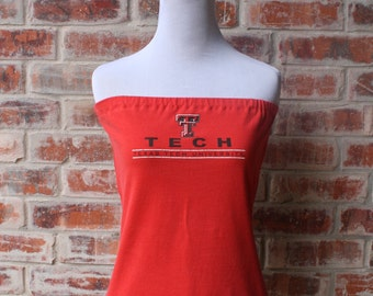 Texas Tech Red Raiders Strapless Game Day Tube Top - Size Small