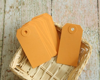 25pcs small Peach Reinforced DIY LUGGAGE blank tag labels
