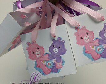 10 Care Bears Mini Favor bags