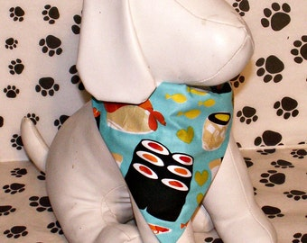 Dog Bandana Sushi, Asian, China, Japan