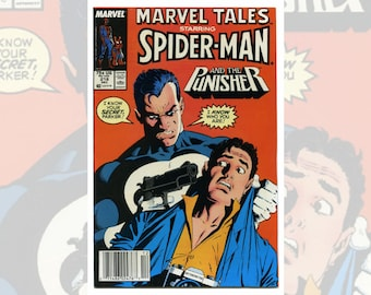 Marvel Tales Starring Spider-Man and the Punisher #218 Dec 1988