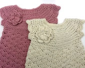 Crochet Dress Pattern for Babies in FOUR Sizes - No.921 Instant Digital Download Easy ePattern