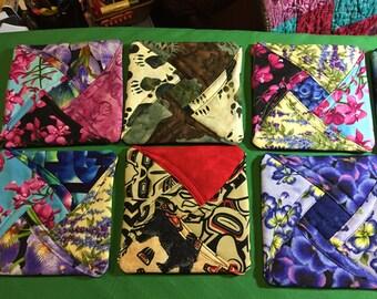 Beautiful handmade Coasters ~ Alaska Fabric