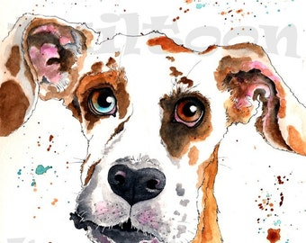Custom Pet Portrait-Caricature