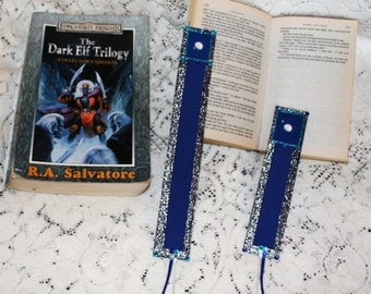 Blue Moon Bookmarks..Personal photo bookmarks..All handmade/hand detailed..LIMITED EDITION