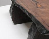Walnut Plateau Coffee Table
