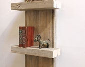Reclaimed Wood Shelf Wall Decor