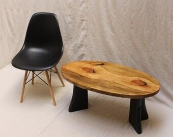 Reclaimed Slab Wood Coffee Table