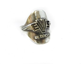 elvis in concert tour logo ring 1977  sterling silver 925 Final Curtain sbc Special
