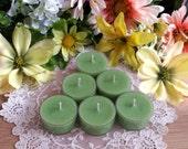 Absinthe Soy Tealights, The Green Fairy Soy Tea lights