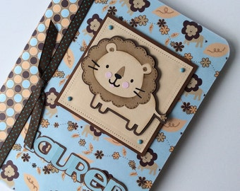 PERSONALIZED Composition Book - Lion