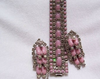 Jewelry, Kramer, ON SALE, Kramer of New York Bracelet and Clip Earrings