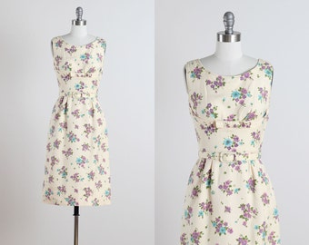 Wildman Original . vintage 1950s dress . 50s cotton dress . 4852