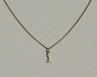 Antique Bronze i Necklace