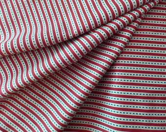 Quilting Fabric Americana Red White and Blue Stripes by Timeless Treasures -Quilts of Valor - Patriotic