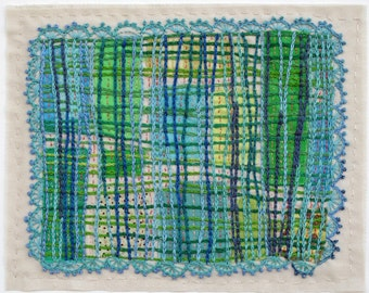 Embroidered Art Work, Untitled, No. 8