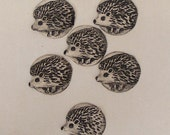 Five Large Buttons Of Hedgehog And The Sixth Is A Gift
