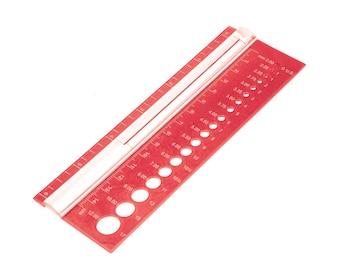 Knitters Pride Needle gauge