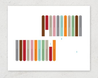 Lab Test Tubes - Science Art Print