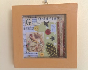 "Picture Box : ""Goldfinch"""