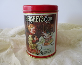 Vintage Hershey's Decorative TIN - chocolate, reproduction