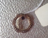 Vintage Round Pin Brooch