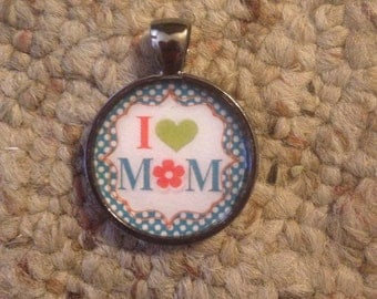 Mother's Day Image Pendant Necklace-FREE SHIPPING-