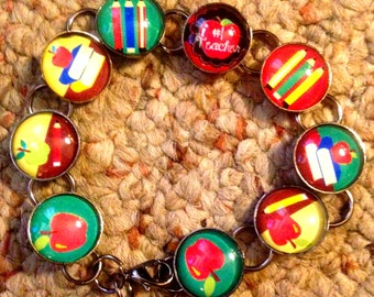 Teacher Gift #1 Teacher Image Bracelet