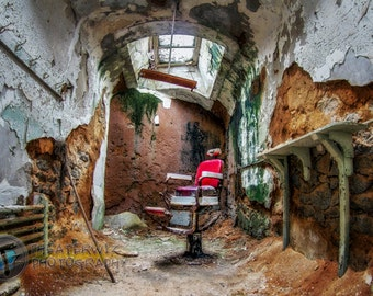 The Chair, Eastern State Penitentiary Fine Art Print