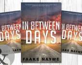 "Premade Digital Book eBook Cover Design ""In Between Days"" Literary Fiction Thriller Suspense Apocalypse"