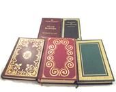 Classic Literature Book Set, 5 Collectors Editions, Novels (DB5)