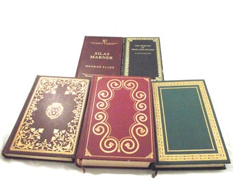 Classic Literature Book Set, 5 Collectors Editions, Novels (DB5)