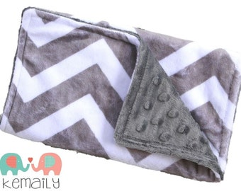 Burp Cloths Grey Chevron Minky Burp Cloth, Baby Shower, Baby Gift, Gender Neutral, Chevron, Feeding, Nursing, Essentials, New Mom