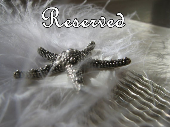 RESERVED CUSTOM ORDER for Melissa whale tail necklace