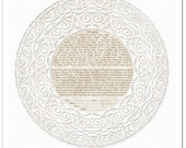 Ketubah: Thou Art Mine I